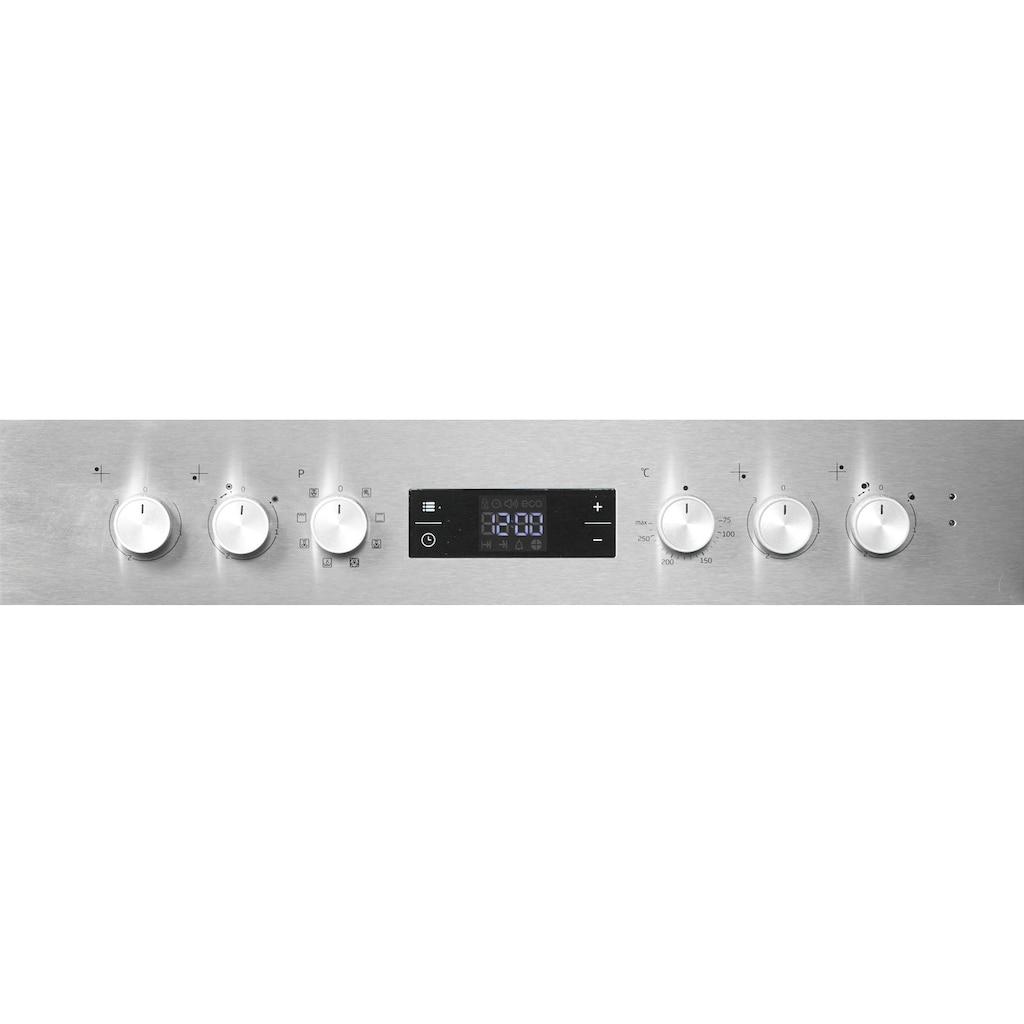 BEKO Elektro-Herd-Set »BUM22320X1«, BUM22320X1, Simple Steam Reinigungsfunktion, (Set), Multidimensionales Kochen