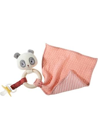 Heunec® Greifling »FrohNATURen Panda, cranberry«, GOTS organic, zertifiziert durch... kaufen
