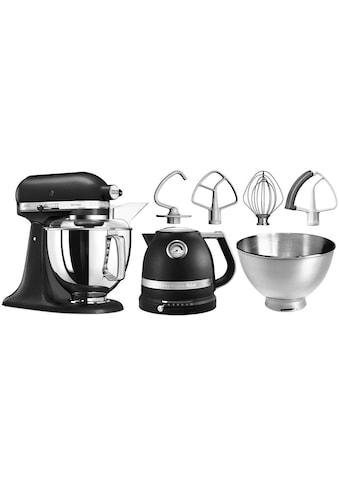 KitchenAid Küchenmaschine »Artisan 5KSM175PSEBK«, 300 W, 4,8 l Schüssel, mit Gratis... kaufen