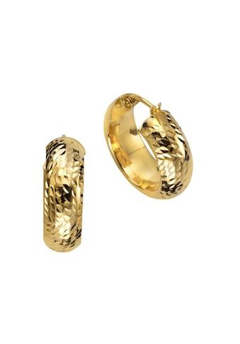 CELESTA Creolen »375/ -  Gelbgold diamantiert« kaufen