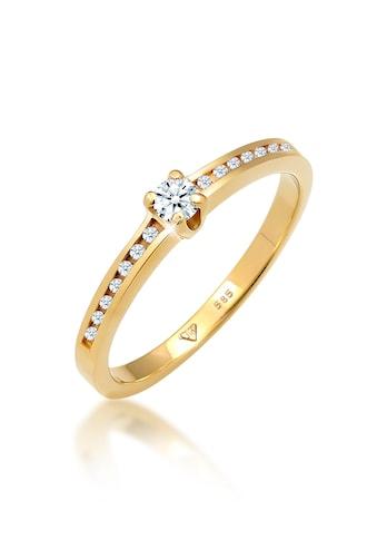Diamore Verlobungsring »Verlobungsring Diamant (0.18 ct.) 585 Gelbgold« kaufen