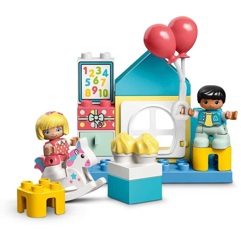 LEGO® Konstruktionsspielsteine »Spielzimmer-Spielbox (10925), LEGO® DUPLO® Town«, (17 St.), Made in Europe
