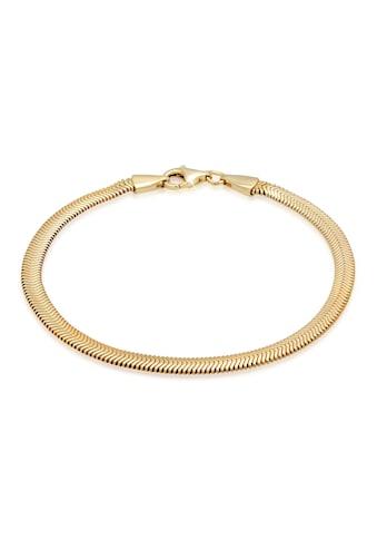Kuzzoi Armband »Flach Elegant Schlangenkette Fischgräte 925 Silber« kaufen