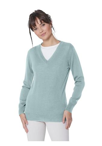 Casual Looks  Pullover mit Rippbündchen kaufen