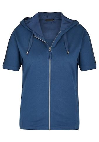 Thomas Rabe Shirtjacke, mit Glitzergalonstreifen und Kapuze kaufen