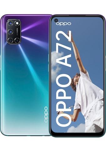"""Oppo Smartphone »A72«, (16,51 cm/6,5 """", 128 GB Speicherplatz, 48 MP Kamera) kaufen"""