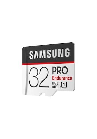 Samsung PRO Endurance microSD Karte (+SD Adapter) kaufen