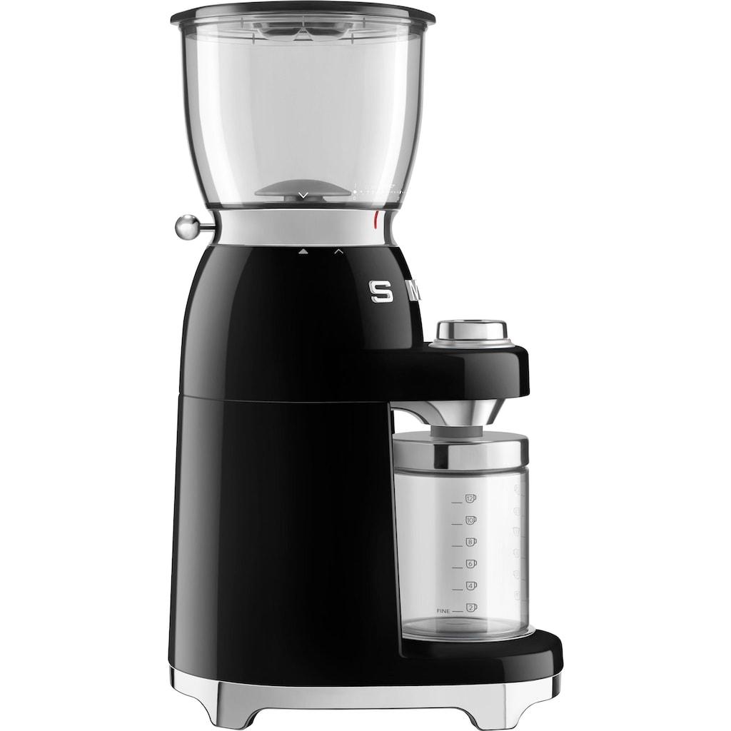 Smeg Kaffeemühle »CGF01BLEU«, 150 W, Kegelmahlwerk, 350 g Bohnenbehälter