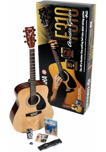 "Yamaha Westerngitarre ""Dreadnought Westerngitarrenset"" 4/4 kaufen"