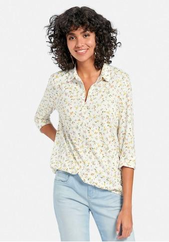 Peter Hahn Blusenshirt »Polo-Shirt mit 3/4-Arm«, keine/nicht relevant kaufen