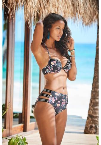 JETTE Highwaist-Bikini-Hose, mit goldenem Lurexfaden kaufen