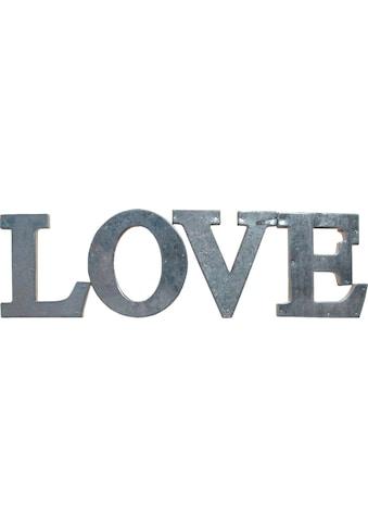 Creativ home Dekoobjekt »LOVE«, 4er Set kaufen
