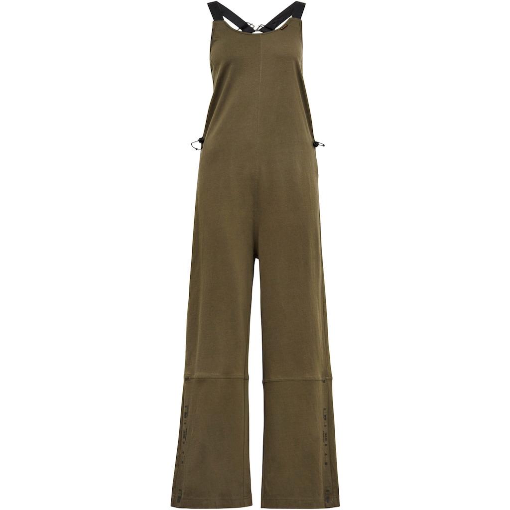 G-Star RAW Jumpsuit »Dungaree Jumpsuit«, in der Taille elastische Kordel mit Stoppern