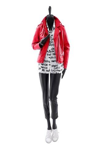 Leder - Jacke mit Schulterklappen kaufen