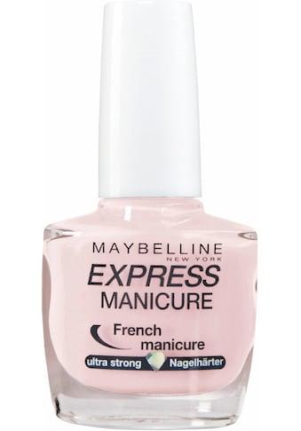 MAYBELLINE NEW YORK Nagellack »Express Manicure French« kaufen
