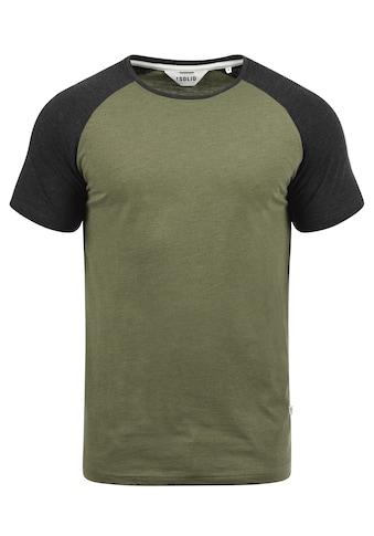 Solid Rundhalsshirt »Bastian« kaufen