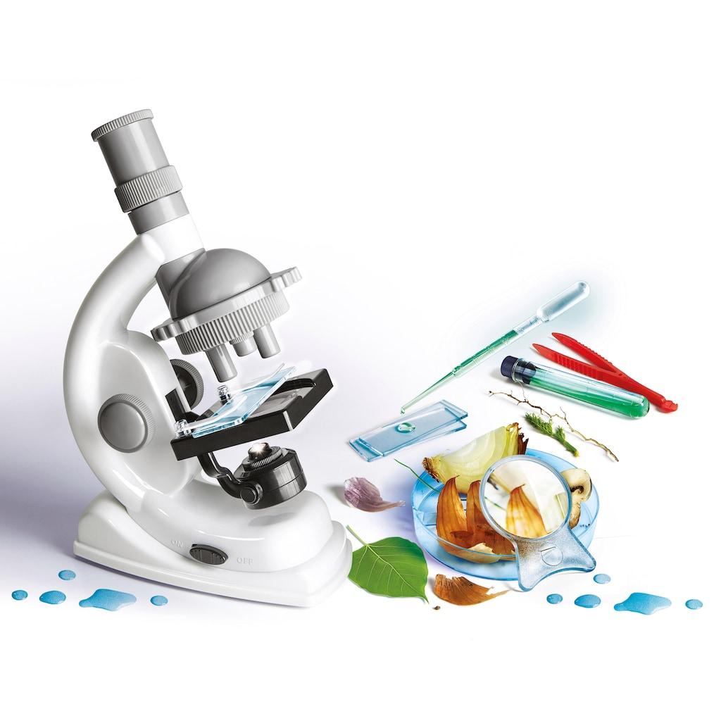Clementoni® Kindermikroskop »Galileo Natur unter dem Mikroskop«