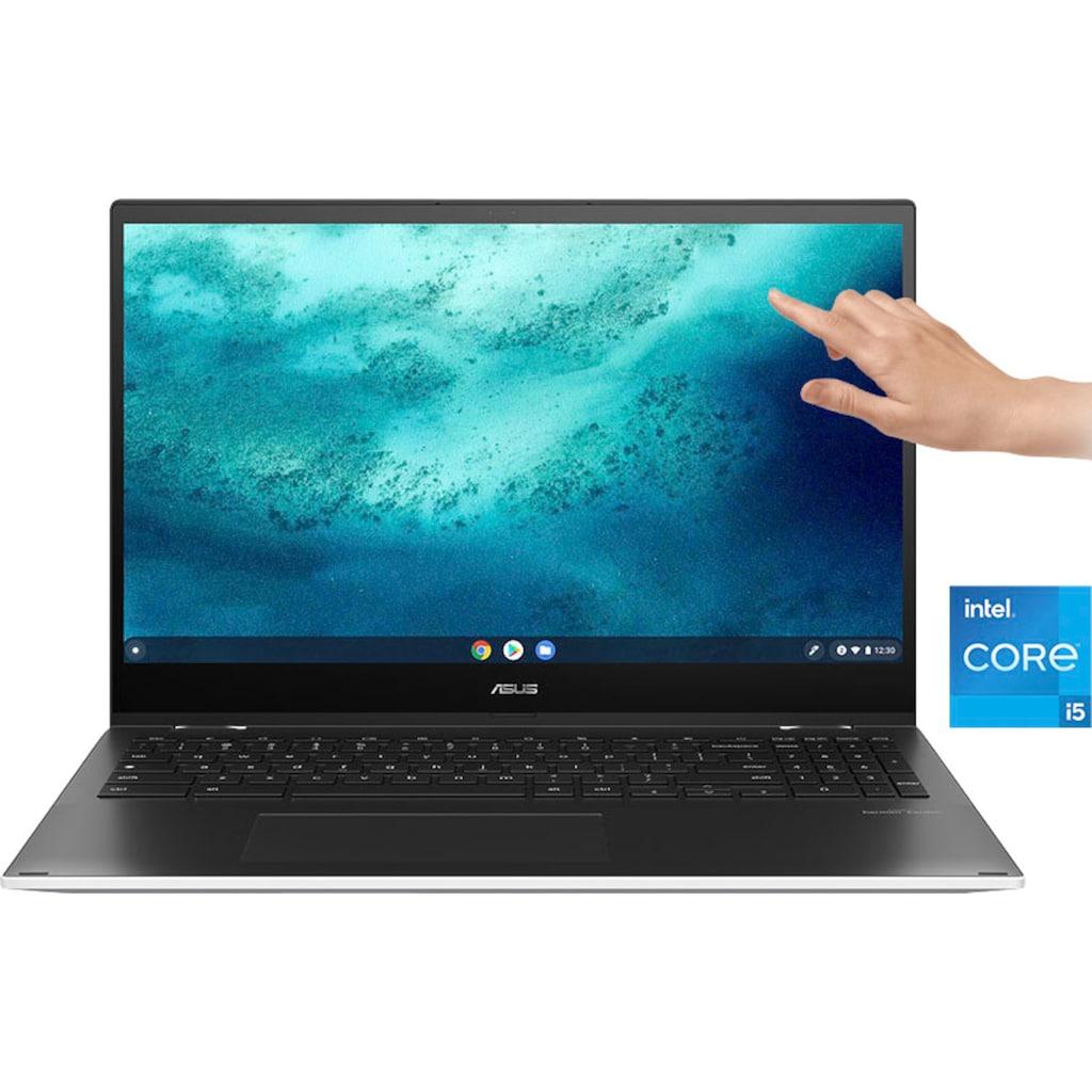 "Asus Notebook »CX5500FEA-E60038«, (39,62 cm/15,6 "" Intel Core i5 UHD Graphics\r\n 128 GB SSD), Kostenloses Upgrade auf Windows 11, sobald verfügbar"