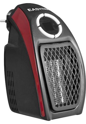 EASYmaxx Heizgerät Mini - Heizung schwarz/rot, 500 Watt kaufen