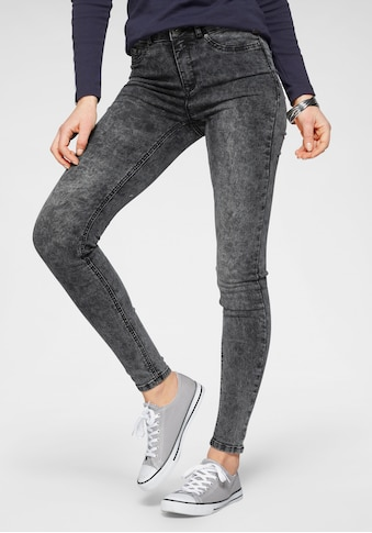 Arizona Skinny-fit-Jeans »Ultra Stretch moon washed«, Moonwashed Jeans kaufen