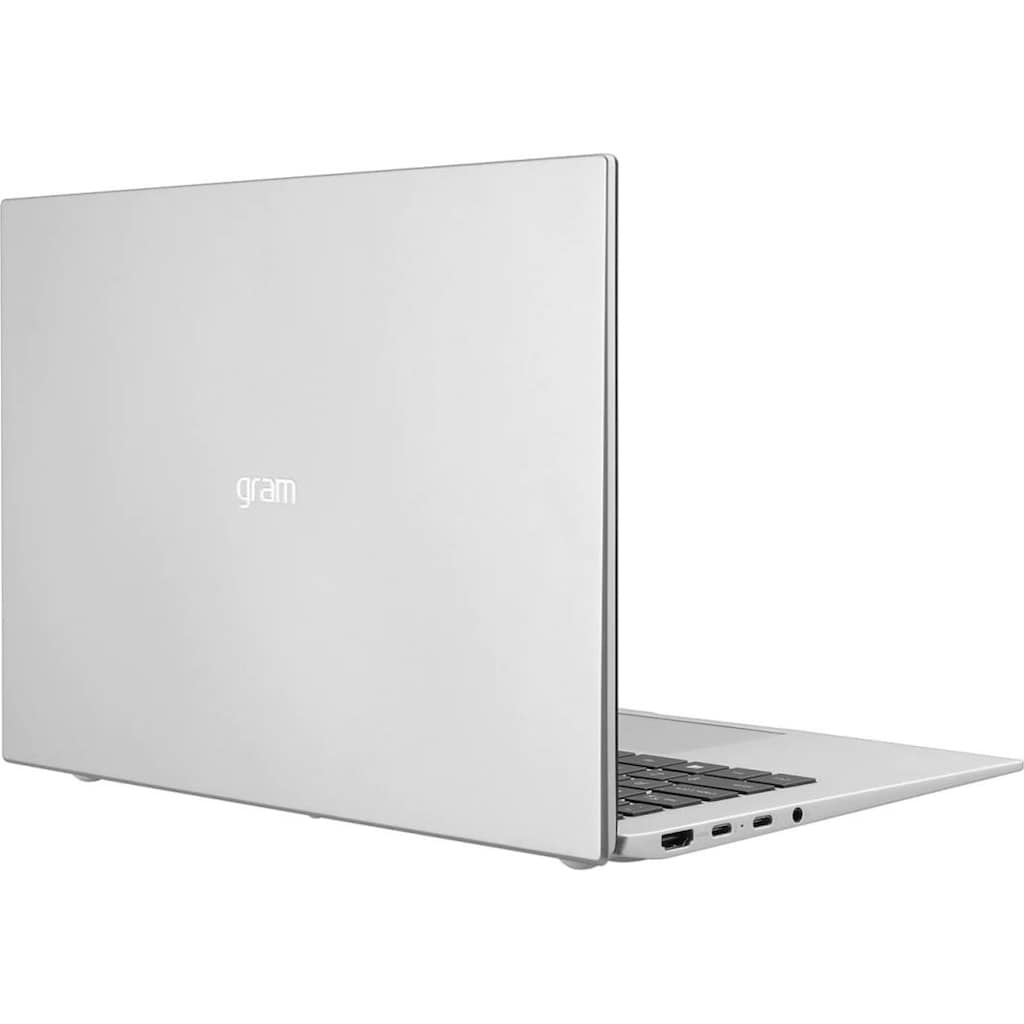 "LG Notebook »gram 14 14Z90P-G.AA79G«, (35,56 cm/14 "" Intel Core i7 Iris X Plus Graphics\r\n 1000 GB SSD), Kostenloses Upgrade auf Windows 11, sobald verfügbar"