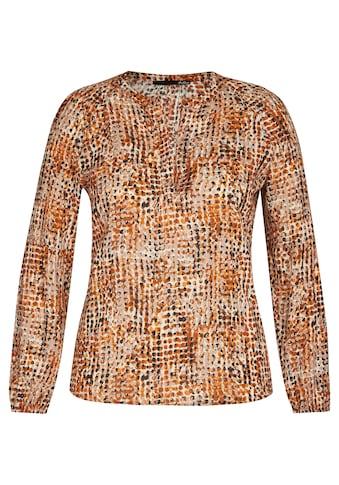 LeComte Schlupfbluse, mit getupftem Allover-Muster kaufen