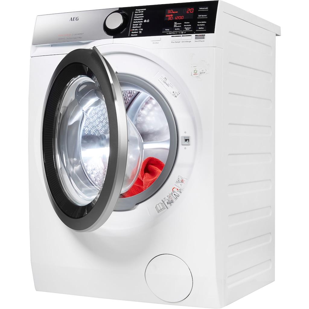 AEG Waschmaschine, L8FE77485, 8 kg, 1400 U/min