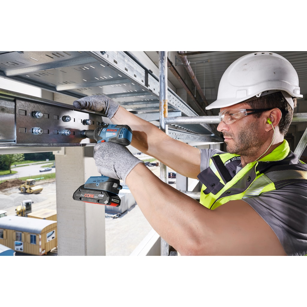Bosch Professional Akku-Drehschlagschrauber »GDS 18V-200 C«, ohne Akku und Ladegerät