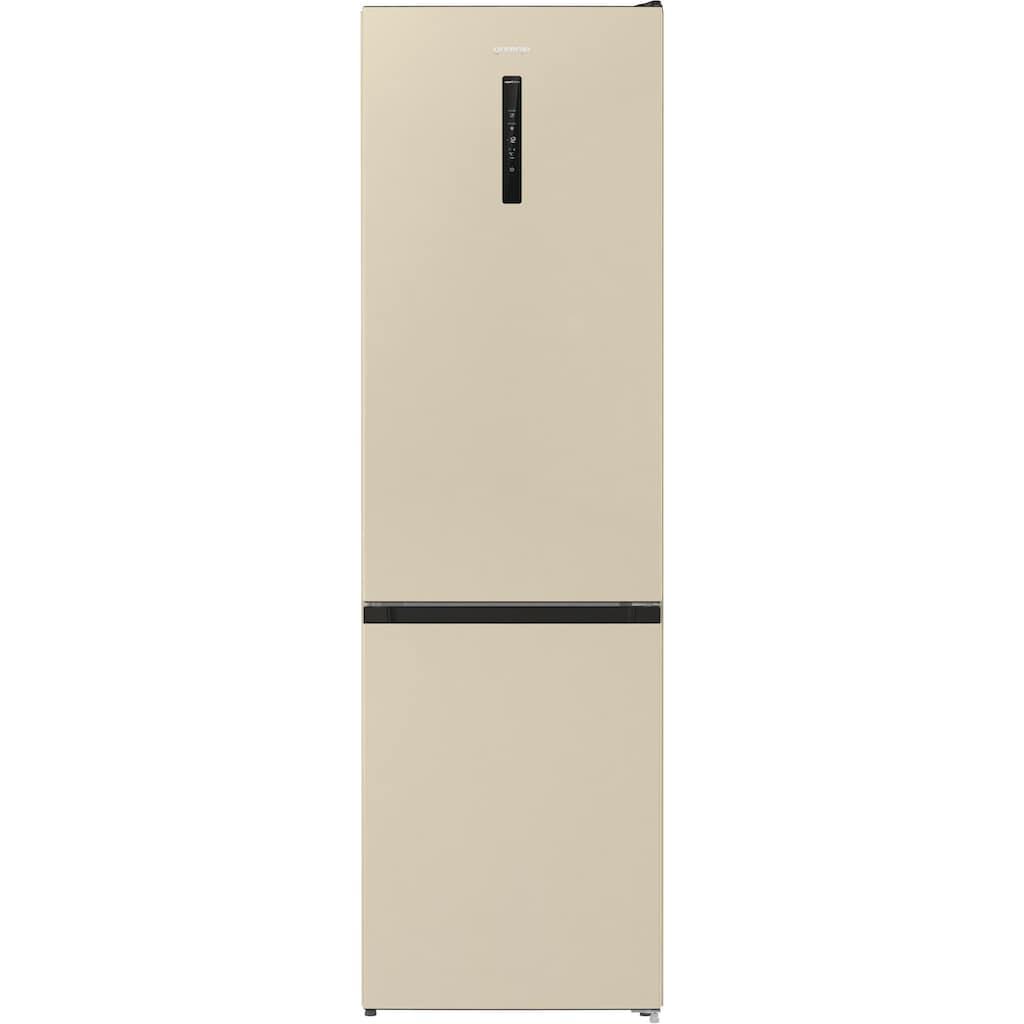 GORENJE Kühl-/Gefrierkombination »NRK6202AC4«, NRK6202AC4, 200 cm hoch, 60 cm breit