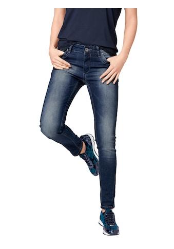 LINEA TESINI by Heine Skinny-fit-Jeans, mit Used-Effekt kaufen