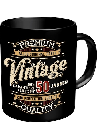 Rahmenlos Kaffeebecher zum 50. Geburtstag kaufen