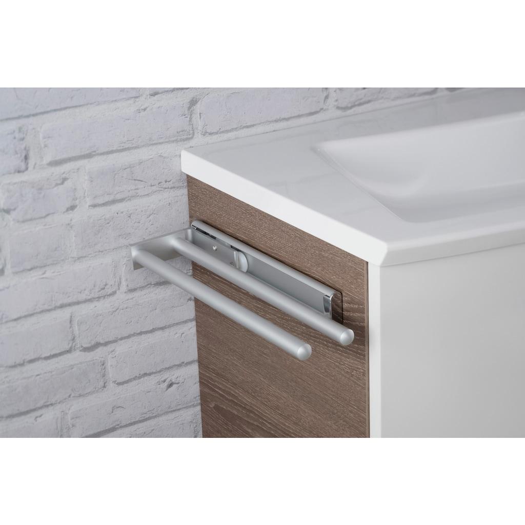 FACKELMANN Handtuchhalter »Aluminium«, Ausziehbar bis 46 cm