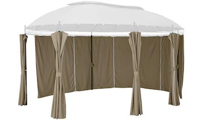 KONIFERA Pavillonseitenteile »Oval«, für Pavillongröße 3,5x5 m kaufen