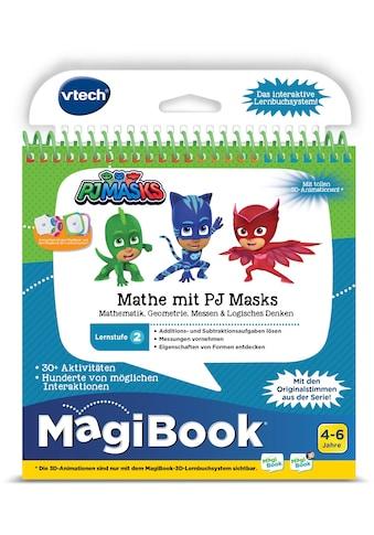 Vtech® Buch »MagiBook Lernstufe 2 - Mathe mit PJ Masks« kaufen