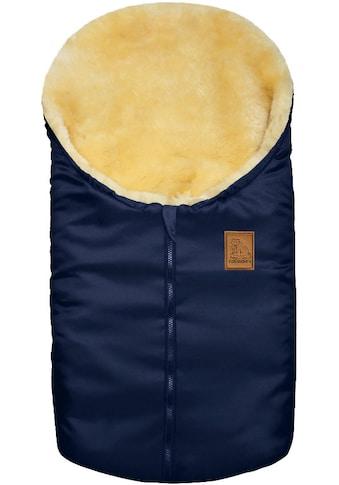 Heitmann Felle Fußsack »Eisbärchen - Kleiner Winter-Lammfellfußsack«, Baby-Fußsack, mit echtem Lammfell, für Tragschalen, Kinderwagen, Autositze und Fahrradanhänger kaufen