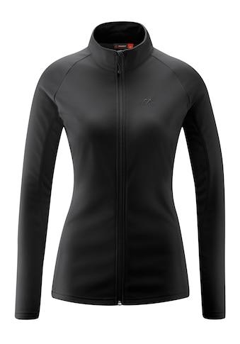 Maier Sports Fleecejacke »Ines«, Klassische Microfleece Jacke, innen geraut kaufen