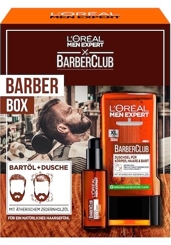 L'ORÉAL PARIS MEN EXPERT Bartpflege-Set »Barber Club Box Geschenkset«, (2 tlg.) kaufen