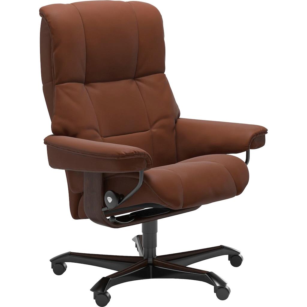 Stressless® Relaxsessel »Mayfair«, mit Home Office Base, Größe M, Gestell Braun