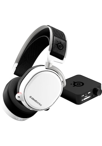 SteelSeries Gaming-Headset »Arctis Pro Wireless White«, Hi-Res-Noise-Cancelling kaufen