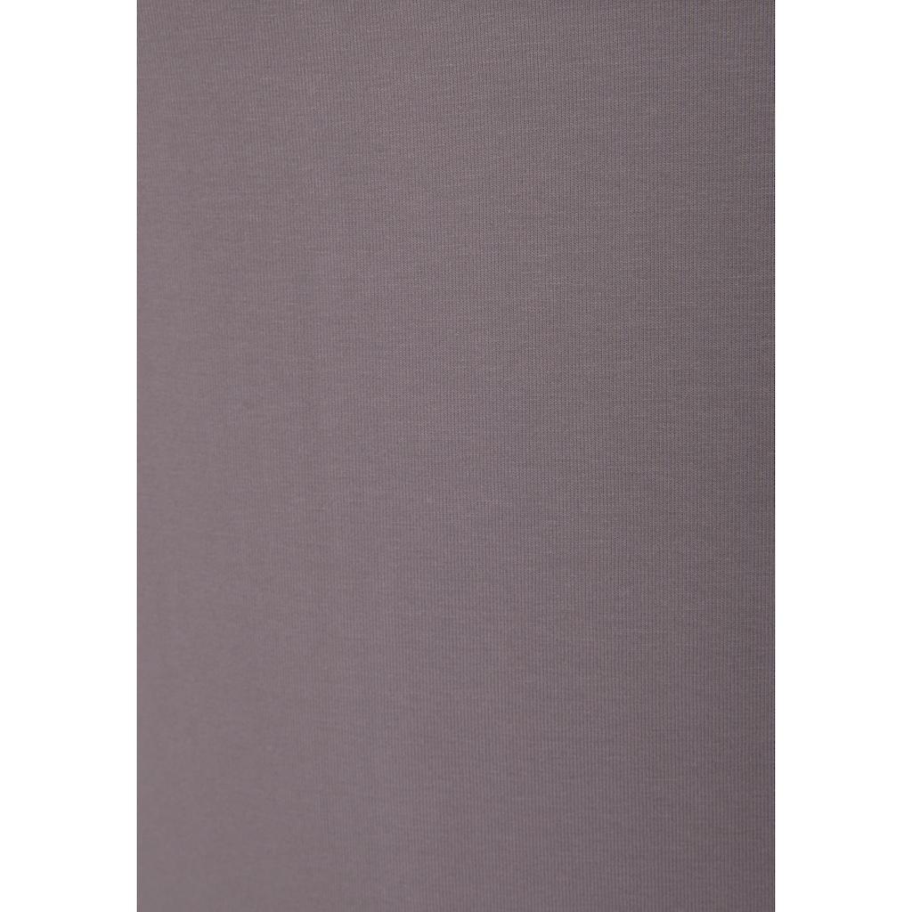 LASCANA ACTIVE Sporttop, mit beschrifteten Trägern und Mesh-Einsatz