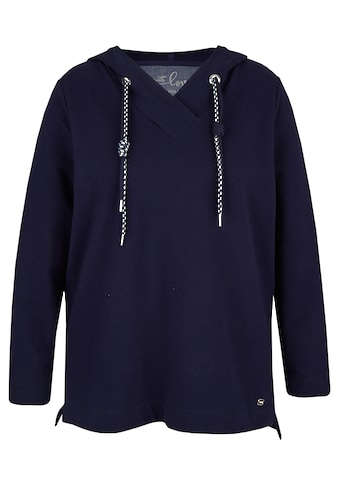 VIA APPIA DUE Kapuzensweatshirt, in dunklem Marineblau kaufen