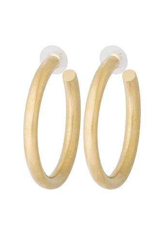 Pippa & Jean Paar Creolen »Set: PJ641«, (2 tlg.), gelbvergoldet kaufen