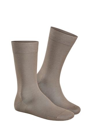 KUNERT Socken »Clark«, aus merzerisierter Baumwolle kaufen