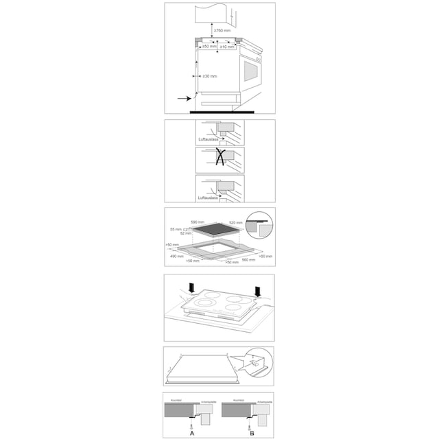 Hanseatic Elektro-Kochfeld von SCHOTT CERAN®