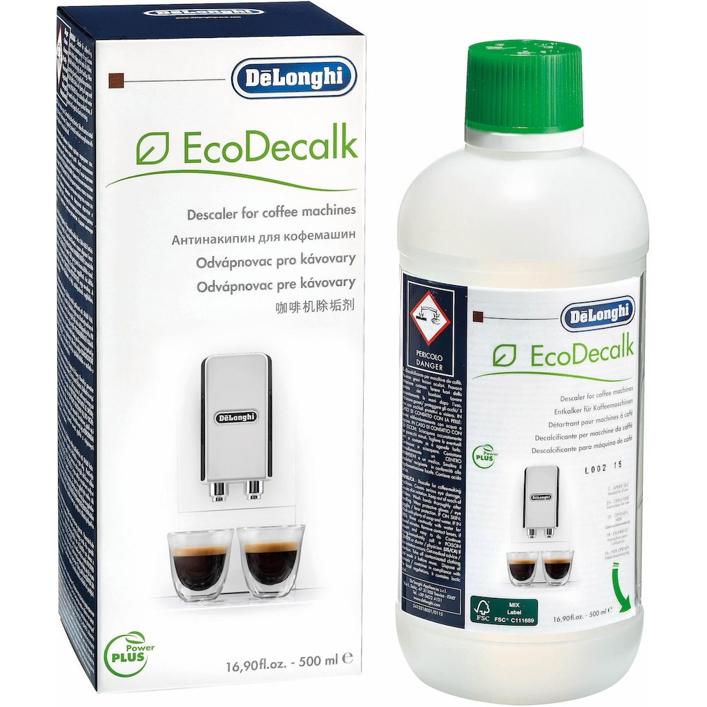 De'Longhi Entkalker »SER3018 EcoDecalk«, Kalklöser für Kaffeevollautomat und Espressomaschine