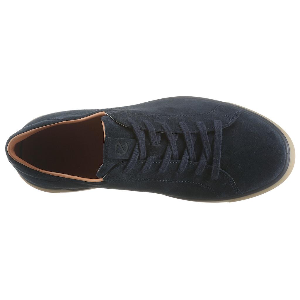 Ecco Sneaker »Street Tray«, mit heller Laufsohle