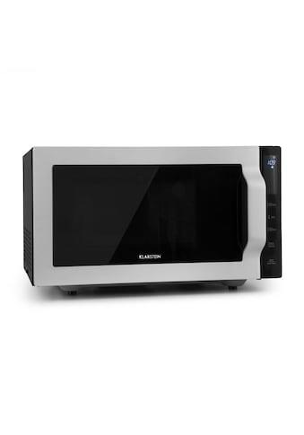 Klarstein Mikrowelle 900W 25l 6 Leistungsstufen Grill silber kaufen