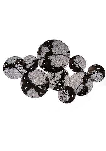 Casablanca by Gilde Wanddekoobjekt »Wandrelief Galaxy«, Wanddeko, aus Metall,... kaufen