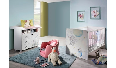 Babymöbel-Set »Vancouver«, (Spar-Set, 2 tlg.), Bett + Wickelkommode kaufen