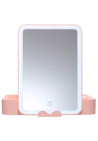 AILORIA Kosmetikspiegel »BELLE«, (1 St.), Beautycase mit LED-Spiegel (USB) kaufen
